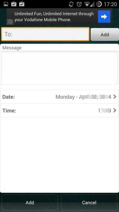 Schedule WhatsApp Messages On Android3